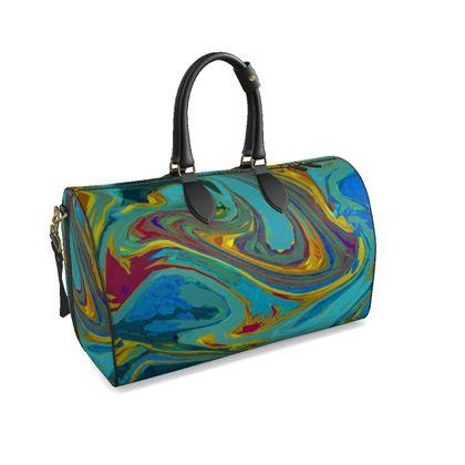 Duffle Bag - Abstract Diesel Rainbow 1
