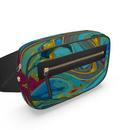Belt Bag - Abstract Diesel Rainbow 1