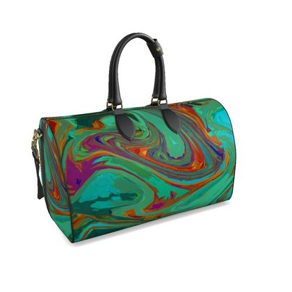 Large Duffle Bag - Abstract Diesel Rainbow 2