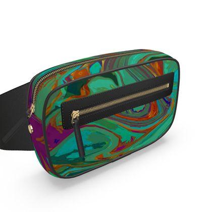 Belt Bag - Abstract Diesel Rainbow 2