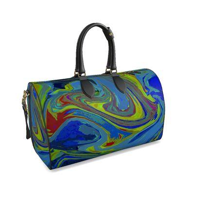 Large Duffle Bag - Abstract Diesel Rainbow 3
