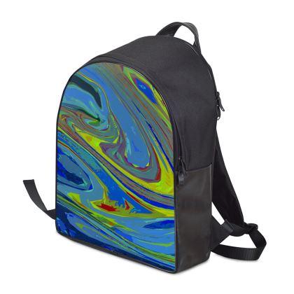 Backpack - Abstract Diesel Rainbow 3