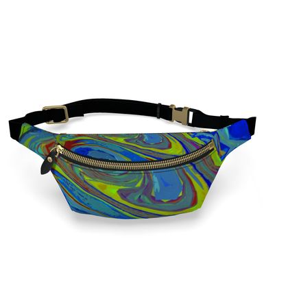 Fanny Pack - Abstract Diesel Rainbow 3