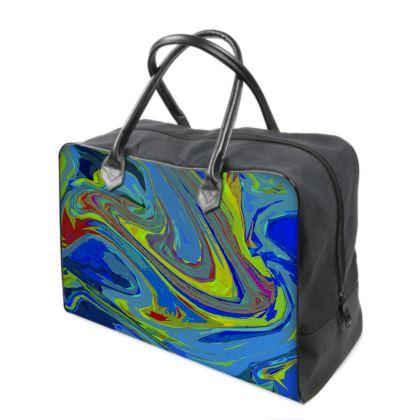 Holdalls - Abstract Diesel Rainbow 3