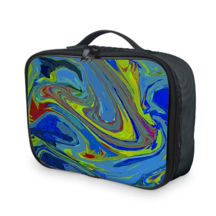 Lunch Bags - Abstract Diesel Rainbow 3