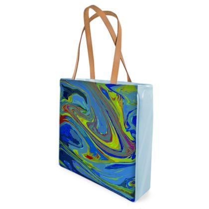 Shopper Bags - Abstract Diesel Rainbow 3