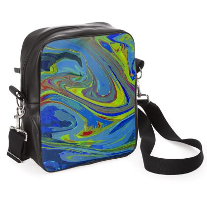 Shoulder Bag - Abstract Diesel Rainbow 3