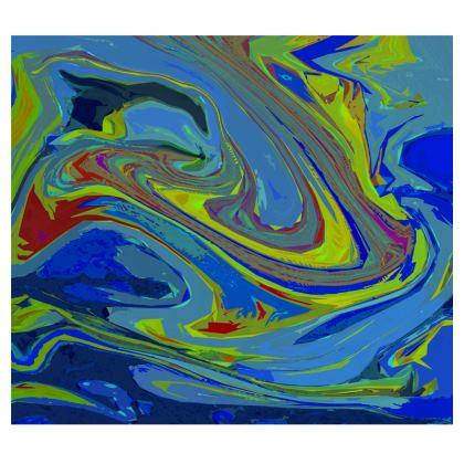 Mens Wallet - Abstract Diesel Rainbow 3