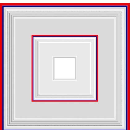 Pantaloni in seta linea mare Riflessi
