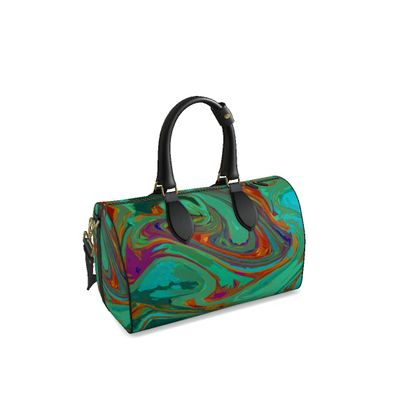 Small Duffle Bag - Abstract Diesel Rainbow 2