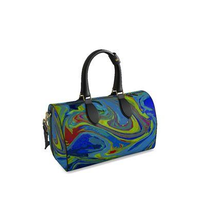 Small Duffle Bag - Abstract Diesel Rainbow 3