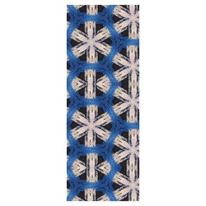 Yoga Mat Abstract Snowflakes