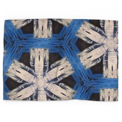 Tea Towels Abstract Snowflakes