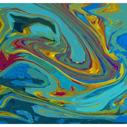 Cushions - Abstract Diesel Rainbow 1
