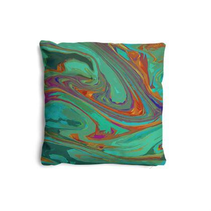 Pillows Set - Abstract Diesel Rainbow 2