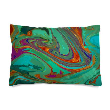 Pillow Case JAPAN - Abstract Diesel Rainbow 2