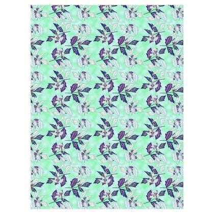 Curtains Teal  [Pair D183CM X W137CM]  Slipstream  Swallow