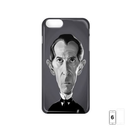 Peter Cushing Celebrity Caricature iPhone 6 Case