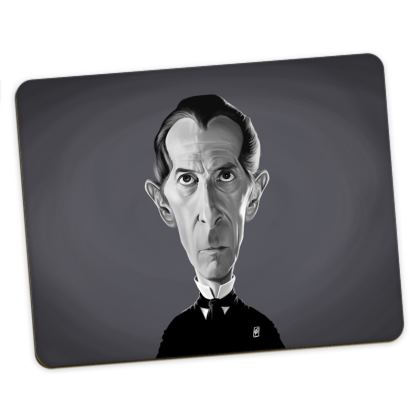 Peter Cushing Celebrity Caricature Placemats