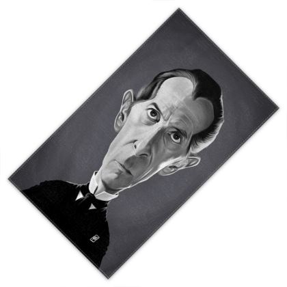 Peter Cushing Celebrity Caricature Towels