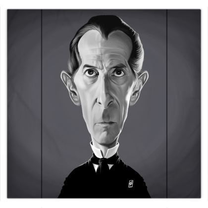 Peter Cushing Celebrity Caricature Duvet Covers