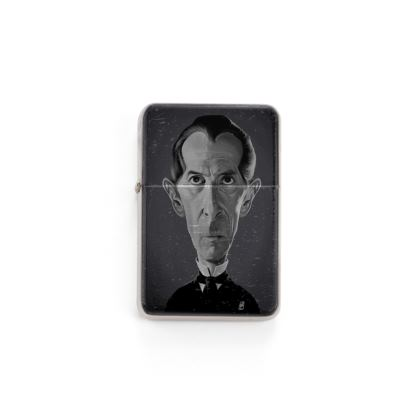 Peter Cushing Celebrity Caricature Lighter