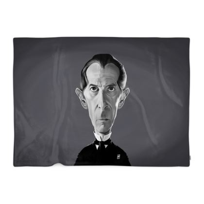 Peter Cushing Celebrity Caricature Blanket