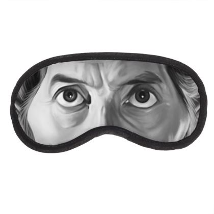 Peter Cushing Celebrity Caricature Eye Mask