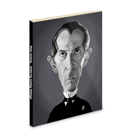 Peter Cushing Celebrity Caricature Pocket Note Book