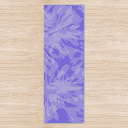Agapanthus Luxury Collection (Blue) - Yoga Mat