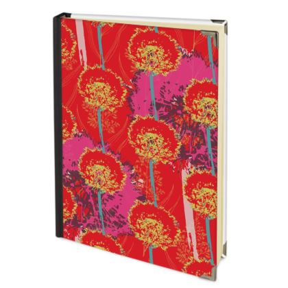 Dandelion Luxury Collection (Red) - Journal