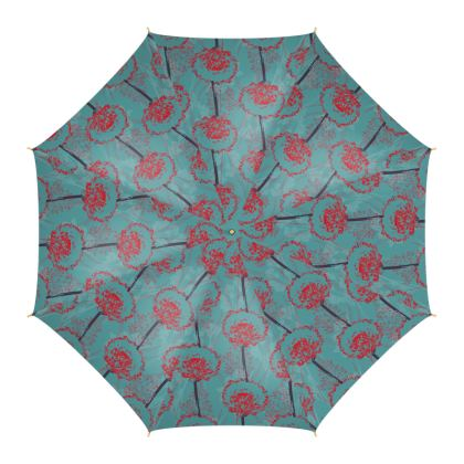 Dandelion Luxury Collection (TEAL) - Umbrella