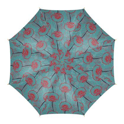 Dandelion Luxury Collection (TEAL) - Umbrella