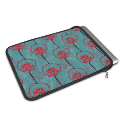 Dandelion Luxury Collection (TEAL) - MacBook Air Cover