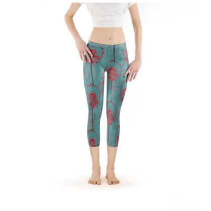 Dandelion Luxury Collection (TEAL) - Leggings