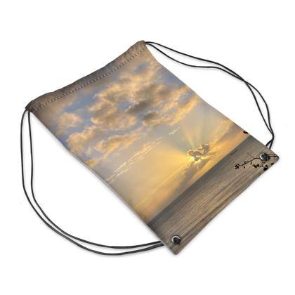 Sunrays over Falmouth Bay Swim Bag