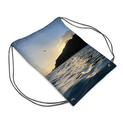 Maenporth Autumn morning swim bag