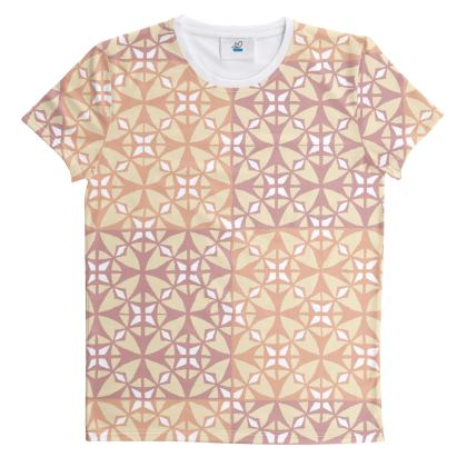 Cut And Sew All Over Print T Shirt 4
