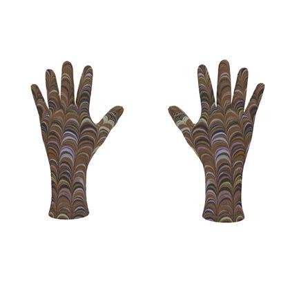 Fleece Gloves - Around Ex Libris Brown Remix (1800 -1950)