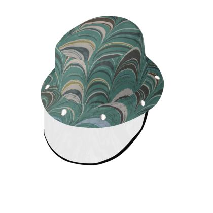 Bucket Hat With Visor - Around Ex Libris Jade Remix (1800 -1950)