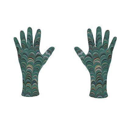 Fleece Gloves - Around Ex Libris Jade Remix (1800 -1950)