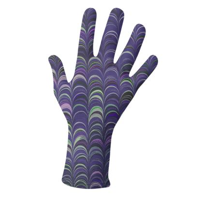 Lycra Gloves - Around Ex Libris Purple Remix (1800 -1950)