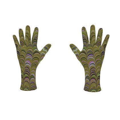 Fleece Gloves - Around Ex Libris Yellow Remix (1800 -1950)