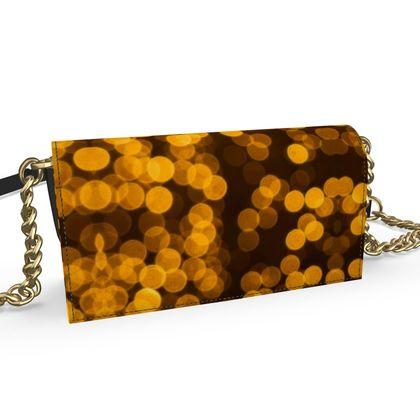 Oana Evening Bag- Emmeline Anne Golden Lights