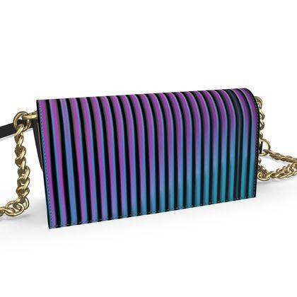 Oana Evening Bag- Emmeline Anne Ombré Stripes