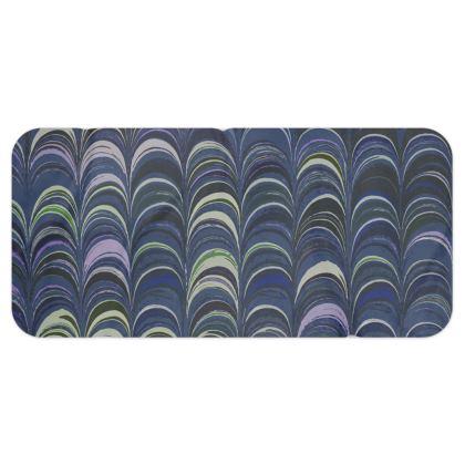 Blanket Scarf - Around Ex Libris Blue Remix (1800 -1950)