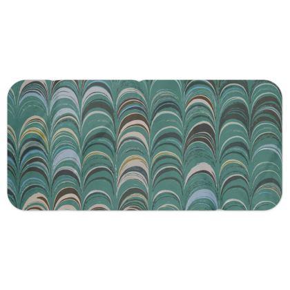 Blanket Scarf - Around Ex Libris Jade Remix (1800 -1950)