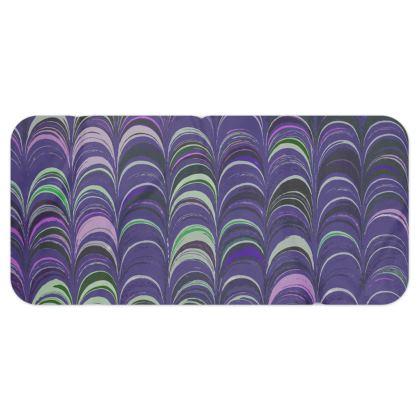 Blanket Scarf - Around Ex Libris Purple Remix (1800 -1950)