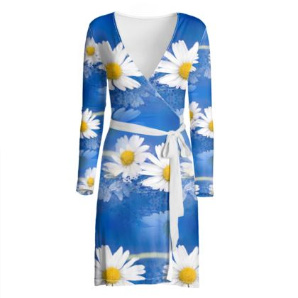 Wrap Dress, Daisy Chains