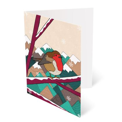 Occasions Cards - Christmas Robin